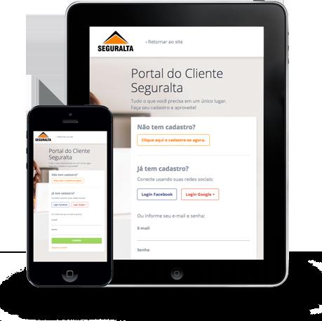 Confira suas apólices de seguro através do Portal do Cliente Seguralta
